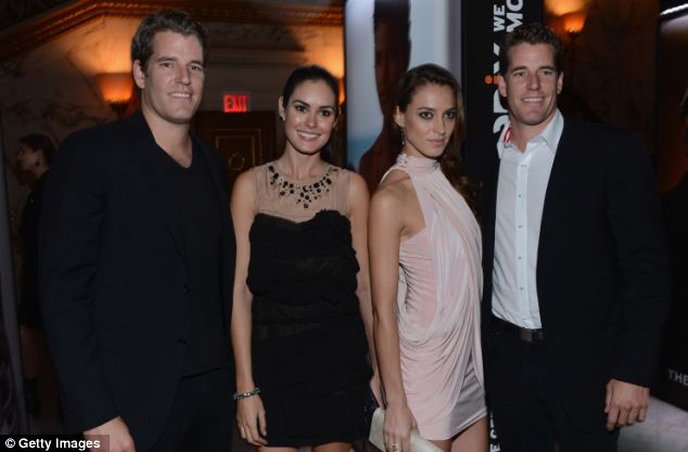 Tyler and Cameron Winklevoss speak with Camila Alves about their latest project, Hukkster (Photo: JETSS - Courtesy)