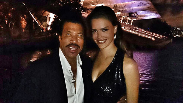 Lionel Richie and Jetss co-founder, Camila Alves at Audemars Piguet dinner in Miami (Photo: JETSS)