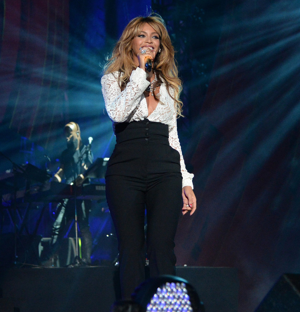 Beyonce sings at Global Citizen Festival-2014