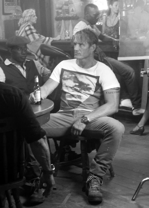 As Gunnar Jensen on set of 'The Expendables 3'. (Foto: Stock)