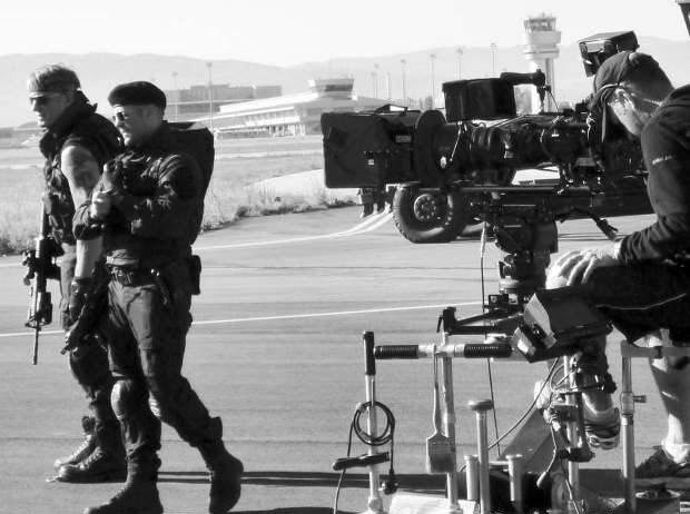 Behind the scenes of 'The Expendables 3'. (Foto: Stock)