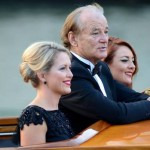 Actor Bill Murray cruises Canal Grande. (Luigi Costantini/AP)