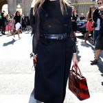 OLIVIA PALERMO Olivia stepped out looking ready for fall in her chic belted trench. Marc Piasecki/GC Images