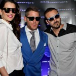 Fernanda Motta, Lapo Elkann and Roger Rodrigues São Paulo at a party hosted by Cris Arcangeli (Photo: JETSS)