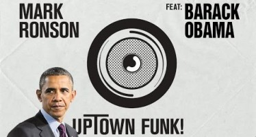 President Obama's mashup of Bruno Mars 'Uptown Funk' (see fun video)