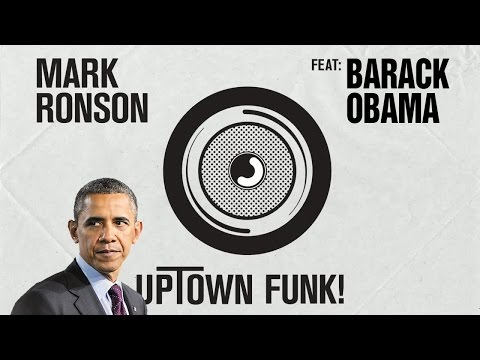 Mark Ronson and Bruno Mark 'Uptown Funk' rapped by President Obama (Photo: WireImage)
