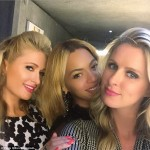 Friends? Paris and Nicky Hilton took a selfie with Beyonce inside the party