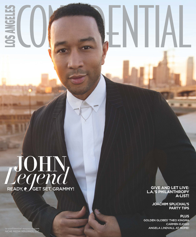 On the cover yet boycotting the party location, John Legend (Photo: BrianBowenSmith/LAConfidential)