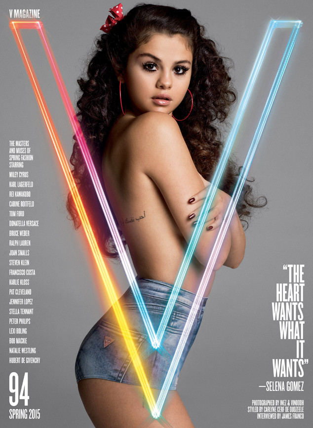 Selena Gomez speaks intimately on her struggles (Photo: VMagazine)