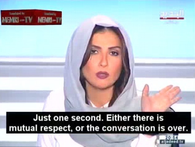 Lebanese TV host Rima Karaki (Photo: youtube)