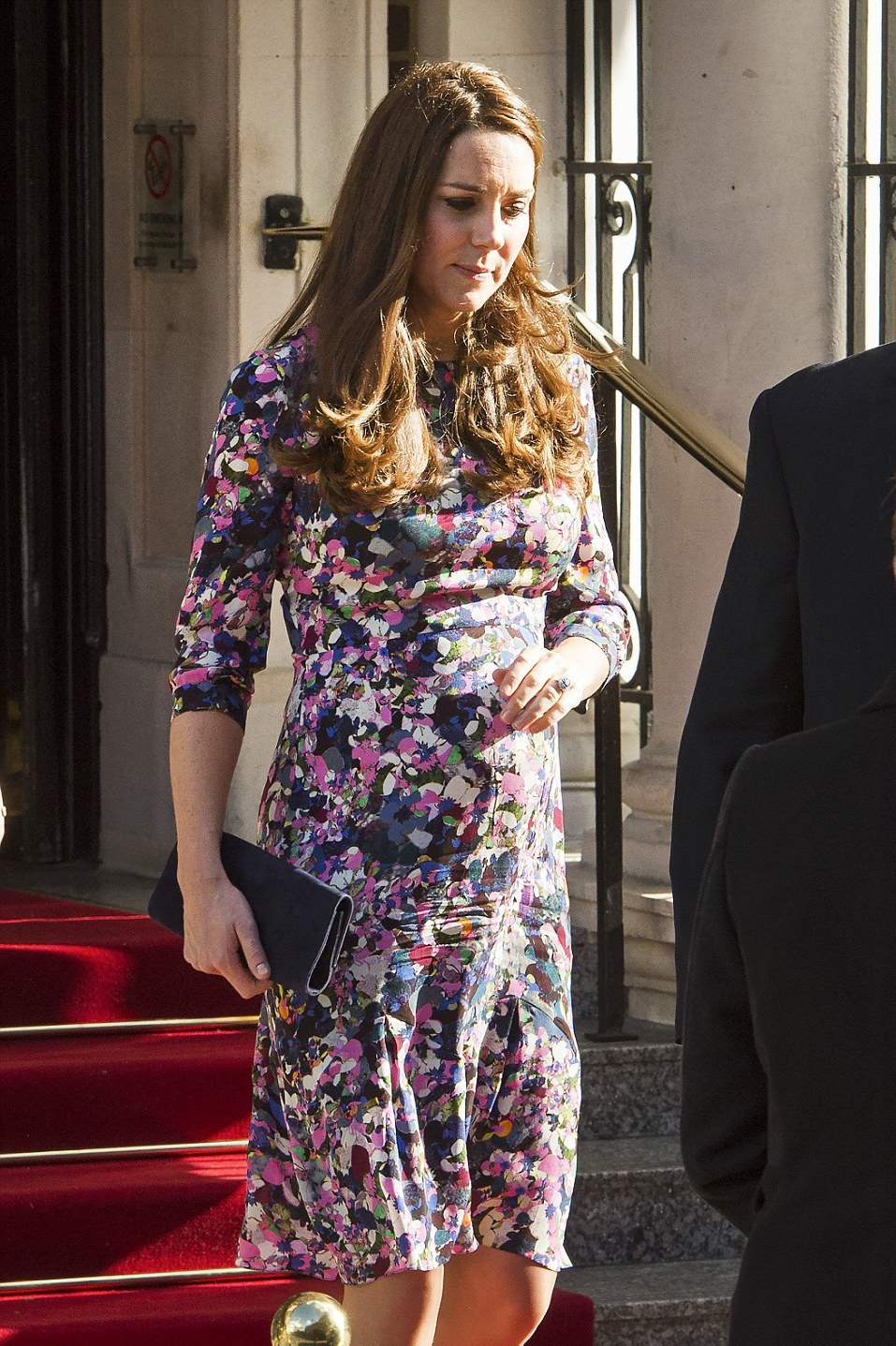 The Duchess departing the Goring Hotel in London (Photo: BenCawthral/LNP)