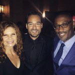 George Tillman, Jr with Tiago Riani and Lolita Davidovich (Photo: JETSS)