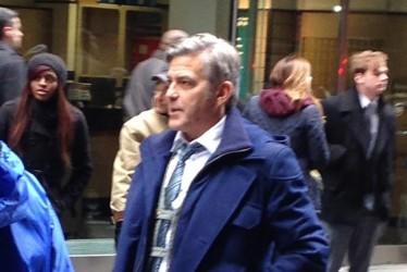 JETSS snaps George Clooney in the streets of New York