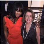 Naomi Campbell and Nancy Pelosi (Photo: Instagram)