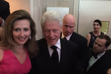 EXCLUSIVE | Bill Clinton and FHC receive 'Person of the Year' in NYC
