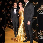 Zac Posen, Caroline Correa and Joe Manganiello (Photo: JETSS)