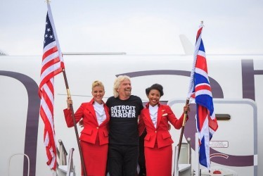"Virgin Atlantic treats passengers to a little Detroit ""Motown"" hustle (fun video)"