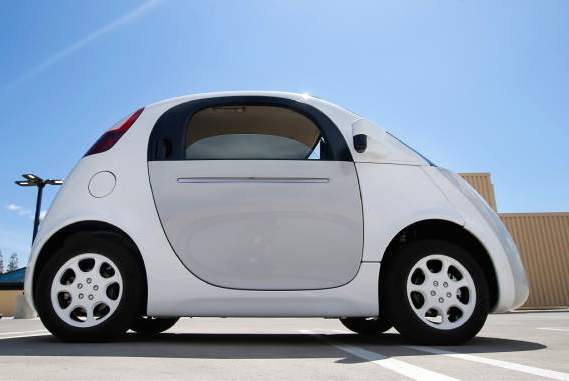 A 'self-driving' car by Google (Photo: Google)