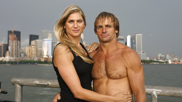 "Gabrielle Reece with husband Laird Hamilton a.k.a. ""alpha male"" (Photo: Instagram)"