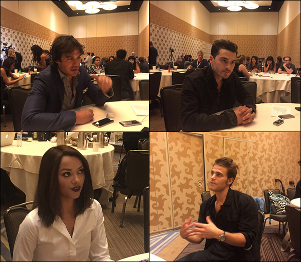 Ian Somerhalder and cast talks about his return to 'The Vampire Diaries' (Photo: JETSS)
