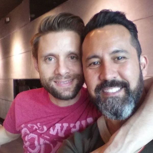 "Danny Pintauro...""Last meal as a nobody. ;) first meal as an activist. #lifelovelive."" (Photo: Instagram)"