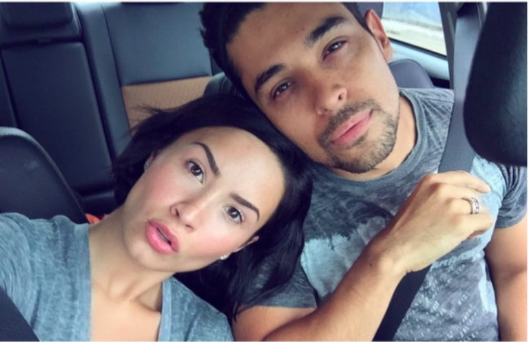 Love does appear to conquer all for Lovato and Wilmer Valderrama (Photo: Instagram)