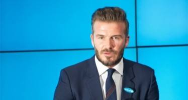 David Beckham's new clothing partnership; not with Victoria…