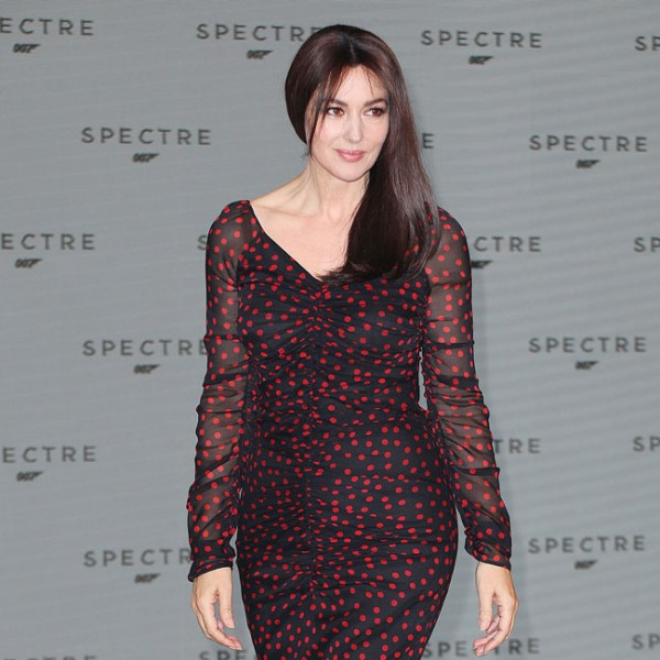 Sexy Monica Bellucci to play the new 'Bond Woman' (Photo: BangShowBiz)
