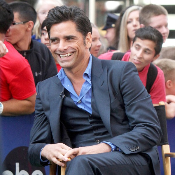 Although he plays a grandfather in 'Granfathered', Stamos is ready to be a daddy (Photo: BangShowBiz)