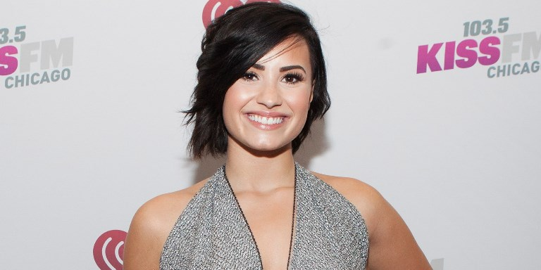 Lovato has kind words for her friend Justin Bieber's life transformation (Photo: Getty)