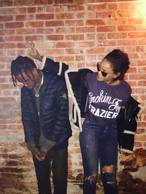 Rihanna and Travis Scott (Photo: Instagram)