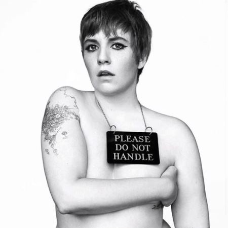 'Girls' star Lena Dunham gets her validation from the perspective of others (Photo: Instagram)