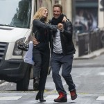 Coldplay's Chris Martin and actress Annabelle Wallis look very much in love (Photo: AKM-GSI)