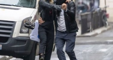 Coldplay's Chris Martin dances in the streets of Paris with new love