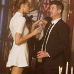 Robin Thicke, 38 and his model girlfriend April Love Geary, 20 (Photo: fameflynet)