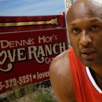 Ex-NBA star, 35, was found unconscious in his room at Dennis Hof's Love Ranch in Crystal, Nevada, by Cherry and Monroe on Tuesday afternoon. Reports shown that Odom had needle marks on his arms and opiates in his system. (Photo: Imageinc)