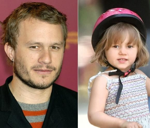 Baby girl Matilda Ledger turns 10 today and daddy Heath would be so proud (Photo: Imageinc)