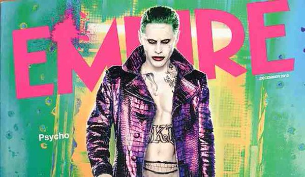 On the cover of Empire mag promoting 'Suicide Squad' also starring Margot Robbie (Photo: Instagram)
