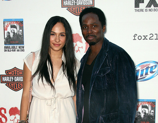 "Harold Perrineau defends his daughter Aurora against haters who say, ""she's not black enough"" (Photo: Imageinc)"