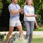 Efron and Chloe Grace Moretz filming 'Neighbors 2: Sorority Rising' (Photo: Fameflynet)