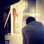 """Sneaky behind the scenes shot from my shoot with @bazaaruk"" (Photo: Instagram)"