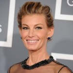 Country singer Faith Hill was 45 yrs. when opted for clear braces (Photo: nydailynews)
