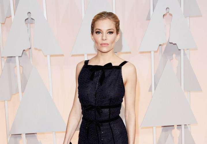 Sienna Miller could be karma for Jolie (Photo: Getty)