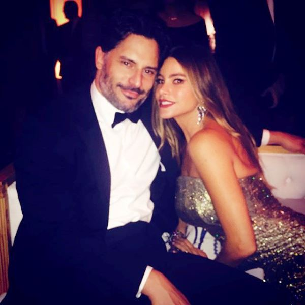 "Vergara captioned this post, ""With the love of my life Emmys after party #fox"" (Photo: Instagram)"