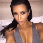 "Kim tweeted in April ""right before I fell asleep with my makeup on"" (Photo: Twitter)"