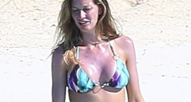 Gisele Bündchen gets upper body enhancement