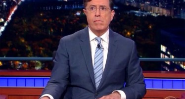 Stephen Colbert holds back tears as he signs off 'The Late Show'