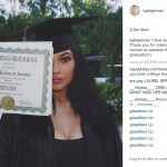 4. Kylie Jenner shows off her diploma (Photo: Instagram)