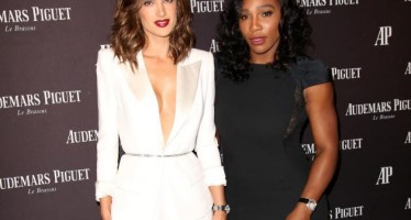 Alessandra Ambrosio, Serena Williams stun at Audemars Piguet opening
