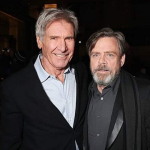 Han Solo and Luke Skywalker, or Harrison Ford and Mark Hamil depending on how into it you are, attempted to rattle the spacetime continuum by playing characters from their youth in their twilight years. (Photo: Instagram, @starwarstheblackseries)